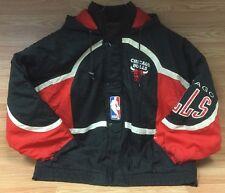 VTG 1990s SIZE XL CHICAGO BULLS NBA BASKETBALL COAT JACKET MICHAEL JORDAN