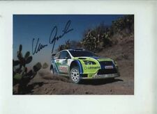 Marcus Gronholm Ford Focus RS WRC 06 Mexican Rally 2006 Signed Photograph