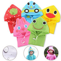 Kids Animal Style Children Waterproof Raincoat Rainwear Unisex Cartoon Raincoats