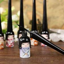 Cute Doll Eyeliner Liquid Eye Liner Pen Pencil Make Up Cosmetic Waterproof Black