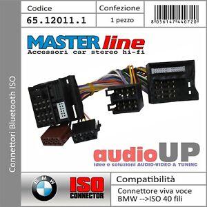 CONNETTORE ISO SISTEMA BLUETOOTH INTERFACCIA 40 FILI BMW SERIE 1 - MASTERLINE