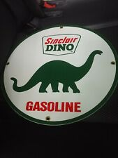 Sinclair Dino gas Gasoline Porcelain Advertising Sign