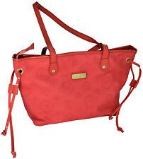 Damentaschen Schulter Erdbeere Alviero Martini Bag Frau Pink