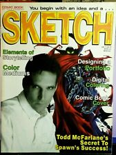 New ListingSketch #2 - Todd McFarlane magazine of comic book art tips & techniques -