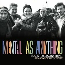 MENTAL AS ANYTHING Essential As CD & DVD BRAND NEW Best Of PAL Region 4