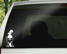 Haunted Mansion Girl Disney Decal Sticker for Car, Wall or Laptop