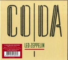 Led Zeppelin CODA Remastered 2015 Deluxe Edition 2CD Set NEW
