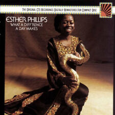 esther phillips - what a diff rence a day makes (CD NEU!) 074644071023