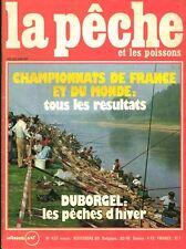 Revue  La pêche et les poissons No 426 Novembre 80