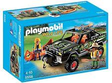 PLAYMOBIL® WILD LIFE - Abenteuer-Pickup - Playmobil 5558 - NEU