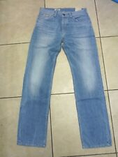"""Pepe London Homme Oxford Comfort Fit Straight Jeans Taille 32"""" Jambe 36"""" Bnwt Bleu"""