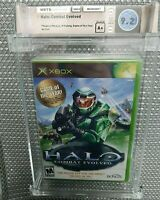 MICROSOFT XBOX * HALO COMBAT EVOLVED (GAME OF THE YEAR) WATA 9.2 A+