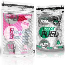 Urban Fuel Active Raspberry Ketone Blast & Detox Fuel Bundle 90 Capsules Refill