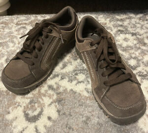 Skechers 48740 Grand Jam Cardinal Womens Brown Leather Lace Up Oxford Size 8