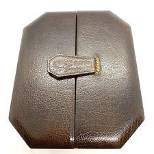Vintage Gerald Genta Watch Box. Leather.