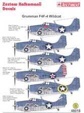 Techmod Decals 1/48 GRUMMAN F4F-4 WILDCAT Fighter