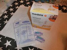 MEDELA Lactaset Einzel-Milchpumpe + LANSINOH 2 x 2 Muttermilchbehälter + Pflege