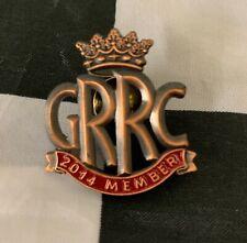 2014 GOODWOOD ROAD RACING CLUB GRRC MEMBERS ENAMEL PIN BADGE FOS REVIVAL 250 GTO