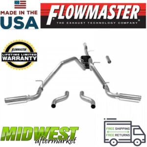 flowmaster exhaust systems for 2015 gmc