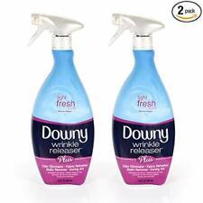 Downy Wrinkle Releaser Plus Spray, Light Fresh Scent, 33.8oz. (Pack Of 2)