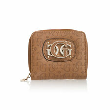 GUESS COWGIRL ZIP AROUND COIN CASE  Wallet for Women's, Brown
