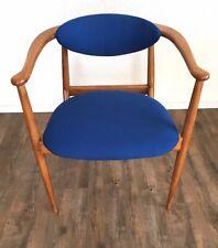 Dänischer Stuhl Teak 60er Mid-Century Schreibtischstuhl Vintage Retro Dänemark