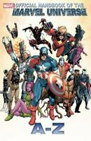 Official Handbook Marvel Universe A To Z Volume 2 GN Captain America New NM