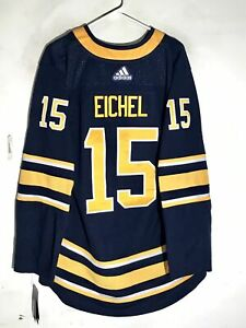 Adidas Authentic Adizero NHL Jersey Buffalo Sabres Jack Eichel Navy sz 52