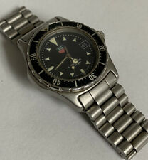 TAG Heuer Professional 973.013 Diver 200m Watch Vintage 1980s