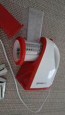 GOURMETmaxx Chefschneider 150W Küchenmaschine Reibe Raspel Rot/Weiß