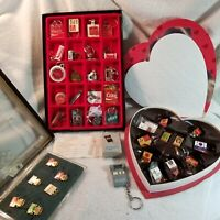 Coca Cola Keychain Vintage Collection, Olympic Pin Collection