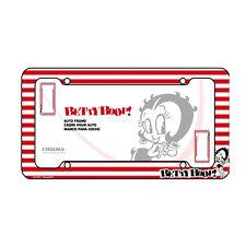"Betty Boop Plastic License Plate frame Universal 12.5"" x 6.5"""