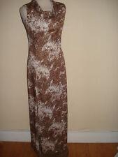 Polyester Maxi Original Vintage Dresses for Women