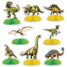 Dinosaur Mini Centerpiece Set 8 Pack Dinosaur Birthday Party Table Decoration