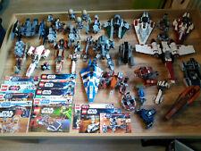 Lego Star Wars Sammlung ( kg Kilo Konvolut ) ca 30 Fahrzeuge Fighter oä