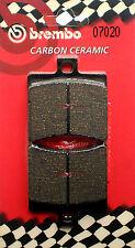 Pasticche Freno Posteriore BREMBO CC Per APRILIA SCARABEO 125 1999>2010  (07020)