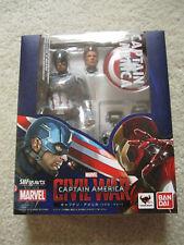 NEW Authentic Tamashii SH Figuarts Marvel Avengers Captain America Civil War
