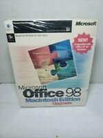 Microsoft Office 98 Macintosh Edition Upgrade - NEW Factory Sealed