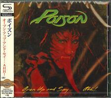POISON-OPEN UP AND SAY...AHH!-JAPAN SHM-CD BONUS TRACK D50