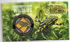 20-Sep-16 Endangered Wildlife - Frog Medallion Cover No  1559 of 3500 Limited
