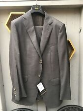 Dunhill LONDON,St.James fit,unaltered,2Piece Charcoal GREY SUIT,SZ 48 euro/38 us