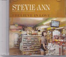 Stevie Ann-I Believe In Love promo cd single