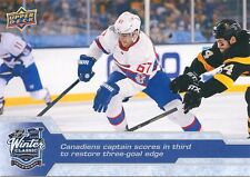 16/17 UPPER DECK 2016 WINTER CLASSIC JUMBO #WC-9 MAX PACIORETTY CANADIENS
