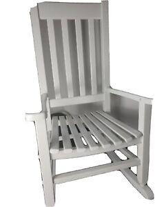 Children's Rocking Chair By Garden Treasures In White or black