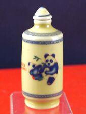 Porzellan Snuff Bottle Bixl Schnupftabakdose Panda Bär Panda 1904-167