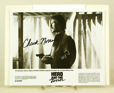 Chuck Norris Autograph Signed photo With COA