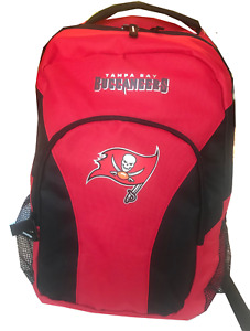 NFL Tampa Bay Buccaneers backpack Large School bag knapsack Licensed new