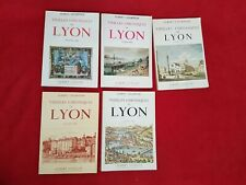 Albert Champdor Vieilles Chroniques de Lyon Ed. Guillot  5 volumes