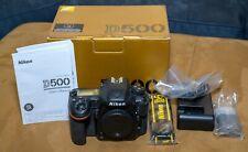 Nikon D500 20.9 MP Digital SLR Camera - Black (Body Only) - Mint Condition!!