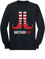 Brother Elf Cute Christmas Gift Santa's Elf Toddler/Kids Long sleeve T-Shirt